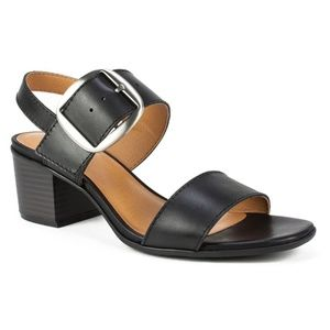 White Mountain Lamar Leather Slingback Sandals